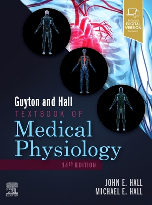 Guyton and Hall Textbook of Medical Physiology 14th ed. hardcover 1152 p. 20